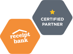 Receipt bank, one star certified partner